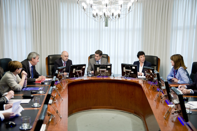 The Cabinet approves the government White Paper to modify the General Budgets Law of the Basque Autonomous Community