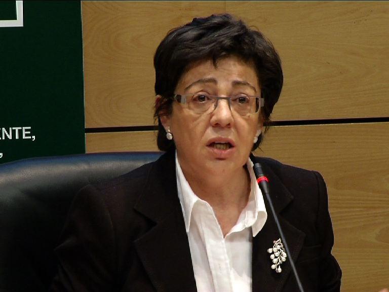 """Pilar Unzalu señala que el """"buen dato"""" de la Biomasa de la anchoa avala la continuidad de esta pesquería [0:28]"""
