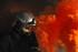 Simulacro de incendio en el tunel de Olandixo, ctra. GI-2620