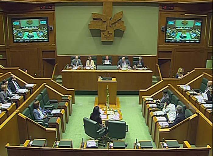 Aprobada la norma de modificación de la ley de presupuestos generales de la CAPV [1:35]