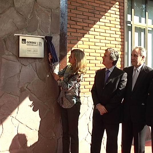Unda participa en el 25 aniversario de la creación del Centro I+D del grupo Gerdau Sidenor