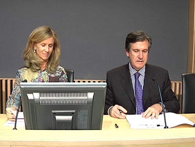 Los Gobiernos de España y Euskadi acuerdan colaborar en proyectos tecnológicos de interés común en materia de energía [0:38]