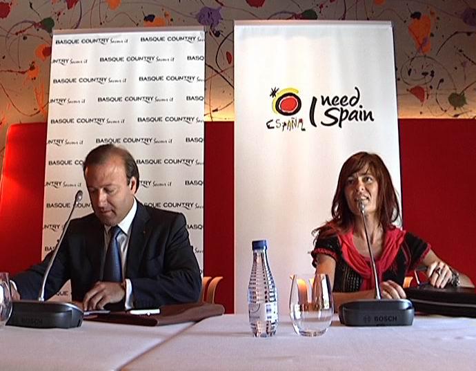 Espainiako eta Euskadiko Gobernuek lehen aldiz sinatu dute sustapen bateratuko akordio bat  [1:26]
