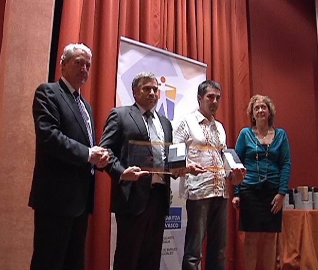 Entrega de Premios Osalan en Prevención de Riesgos Laborales [0:42]