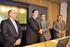 El Gobierno Vasco firma tres convenios con BBK, Caja Vital y Kutxa para potenciar la financiación a los autónomos y microempresas