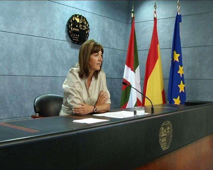 Rueda de Prensa de la portavoz del Gobierno Vasco tras el Consejo de Gobierno [20:16]
