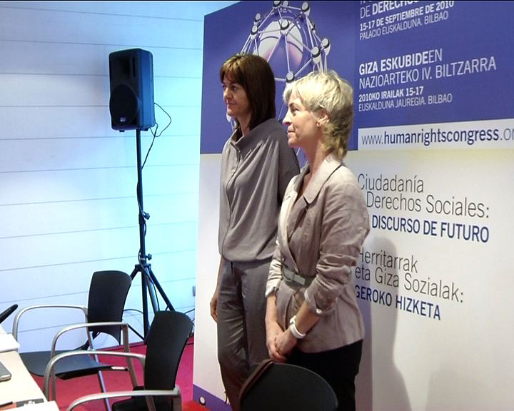 El futuro del Estado de bienestar a debate en el IV Congreso Internacional de Derechos Humanos [1:59]