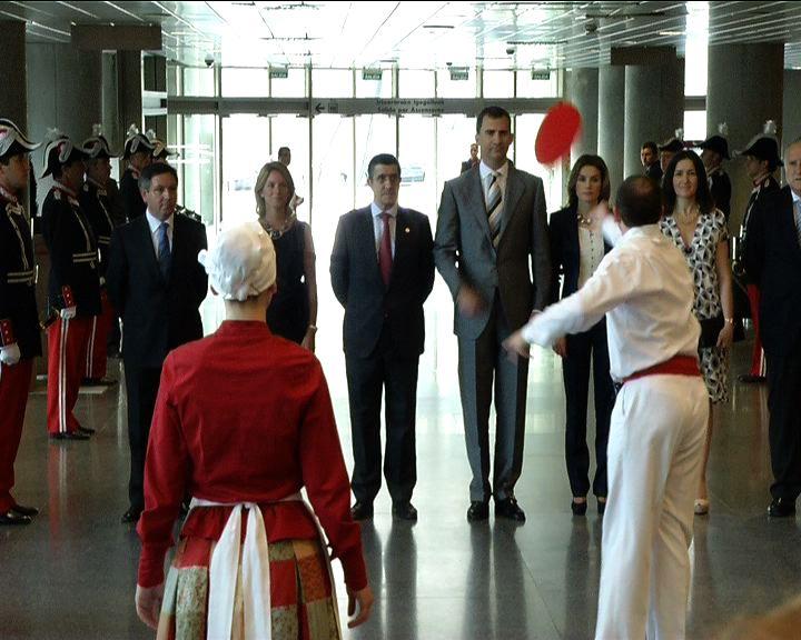 Lehendakariak Kultura Ministerioaren Sari Nazionalen banaketa ekitaldian parte hartu du [1:33]