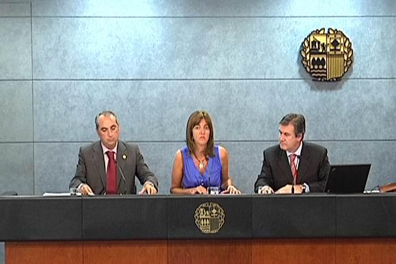 Rueda de prensa de la Portavoz tras el Consejo de Gobierno [0:36]