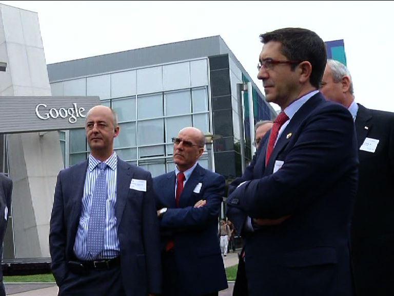 El Gobierno Vasco ofrecerá a Google que Euskadi sea la primera administración, tras la de Obama, en implantar su nueva aplicación de información pública [1:41]