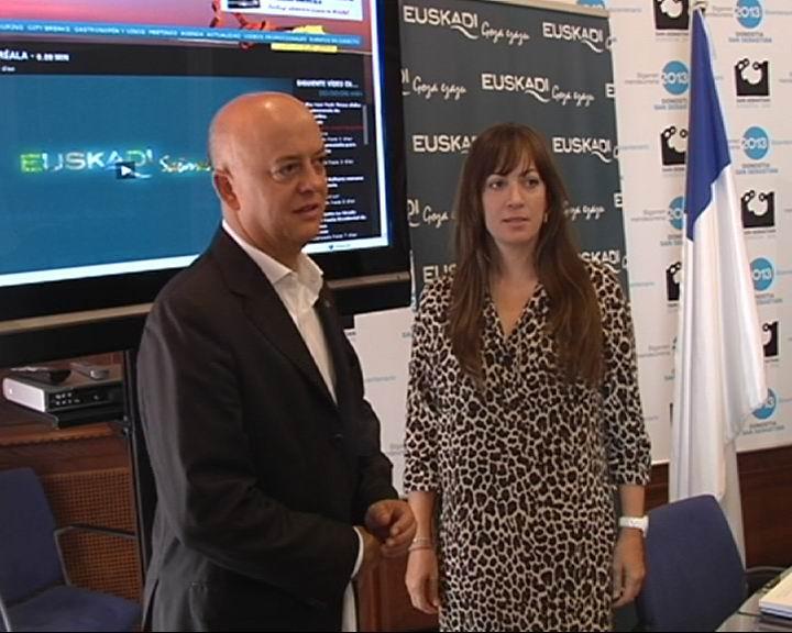 www.tveuskadi.net euskal turismoaren Internet bidezko telebista berriak zuzenean emango du Donostiako Aste Nagusiaren kanoikada [1:16]