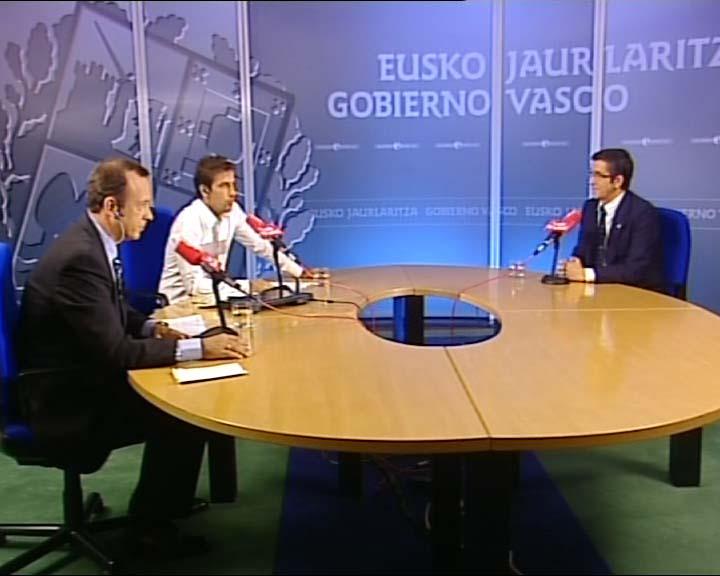 "El Lehendakari considera ""insuficiente"" el comunicado de ETA [2:00]"