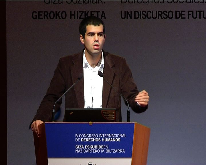 Gorka Moreno Márquez, Euskal Herriko Unibertsitatearen Gizarte Langintzako U.E.ko irakaslea eta Ikuspegi - Immigrazioaren Euskal Behatokiaren ikertzailea. Espainia [22:22]