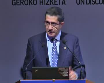 Intervención del Lehendakari e Idoia Mendia en el IV Congreso Internacional de Derechos Humanos [16:59]