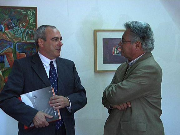 El Viceconsejero Antonio Rivera y el Secretario Silvestre Gorgulho