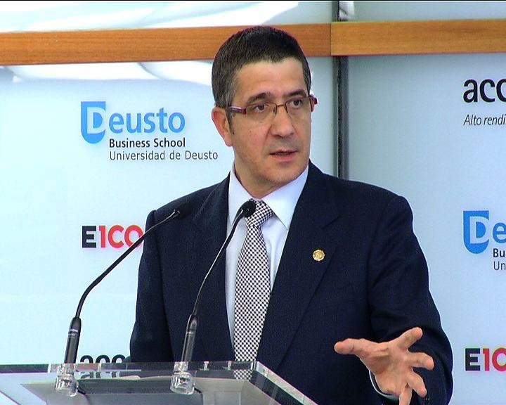 Intervención del Lehendakari ante el I Foro Liderazgo Euskadi [58:18]