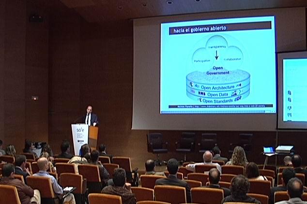 Idoia Mendia inaugura SALE (Software Askea Libre Euskadin), celebración del Día Internacional del Software Libre [2:13]