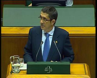 Intervencion lehendakaria debate politica general politika orrokorrari eztabaida interbentzioa