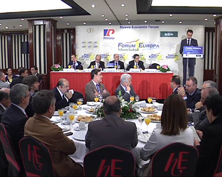 El Consejero de Interior del Gobierno Vasco Rodolfo Ares ha intervenido en el Forum Europa Tribuna Euskadi [1:15]