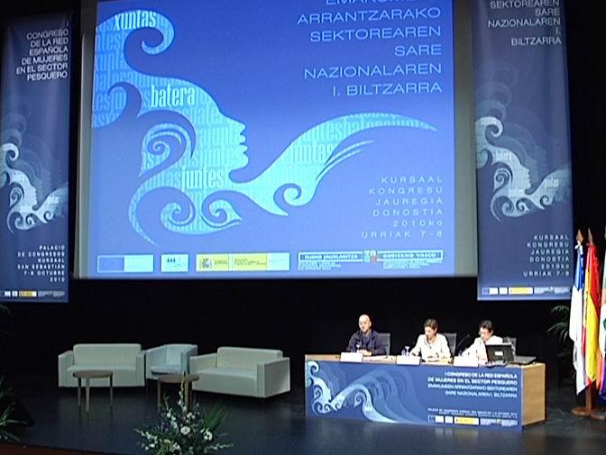 Pilar Unzalu reivindica el reconocimiento social y profesional del trabajo de las mujeres del sector pesquero [1:23]