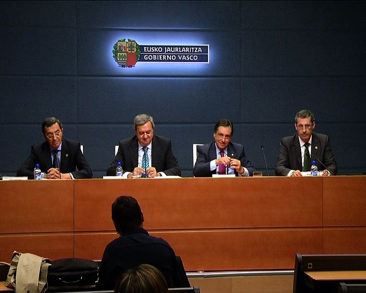 Rueda de prensa tras la reunión del Consejo Vasco de Finanzas Públicas [39:24]