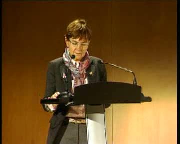 El Lehendakari inaugura el I Foro Nacional del Emprendimiento:Clausura Gemma Zabaleta Consejera de Empleo y Asuntos Sociales [11:22]