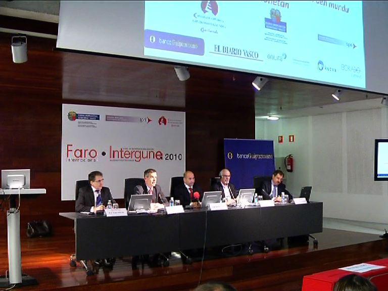 """Unda anima a las empresas vascas a buscar """"alianzas multilocalizadas"""" para competir en el exterior [0:47]"""