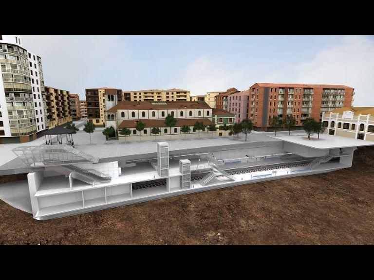 Arriola anuncia la construcción de una estación soterrada en Pasajes y la cubrición del apeadero de Galtzaraborda [5:55]