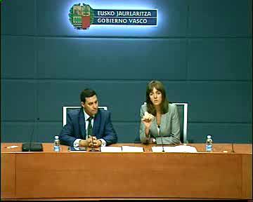 El Gobierno Vasco y el Ministerio de Industria impulsan la modernización tecnológica de los Juzgados de Paz [8:29]
