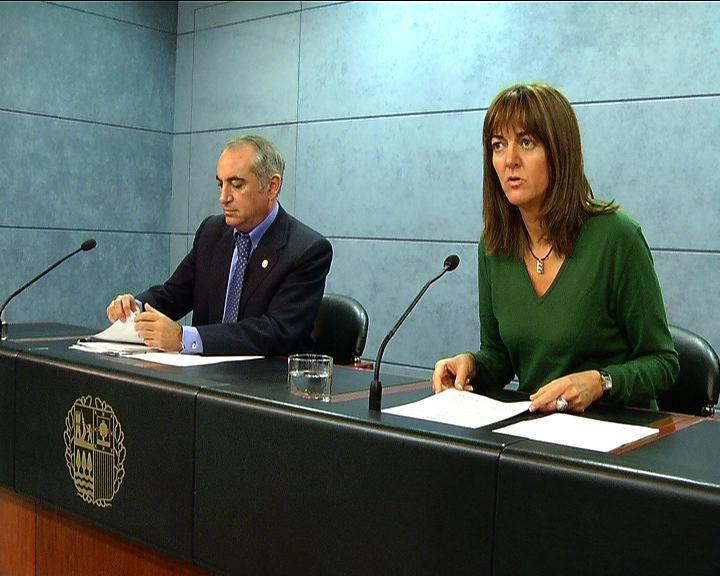 Rueda de prensa de la portavoz del Gobierno Vasco, Idoia Mendia, tras el Consejo de Gobierno [37:30]
