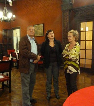 Aizpea Goenagak Buenos Aireseko euskal etxeen pinakoteka ezagutu zuen