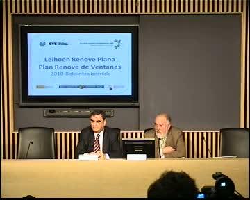 El EVE pone en marcha el Plan Renove Ventanas 2010 con un presupuesto de 1,4 millones y nuevas condiciones de solicitud [17:35]