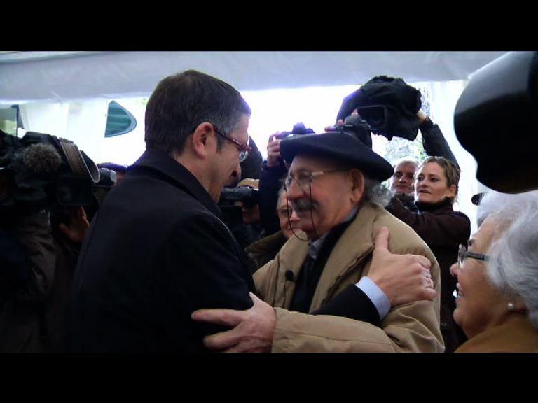 """El Lehendakari considera la memoria de las víctimas del terrorismo """"argumento fundamental"""" para deslegitimar el terrorismo """"ética, política y socialmente"""" [1:50]"""