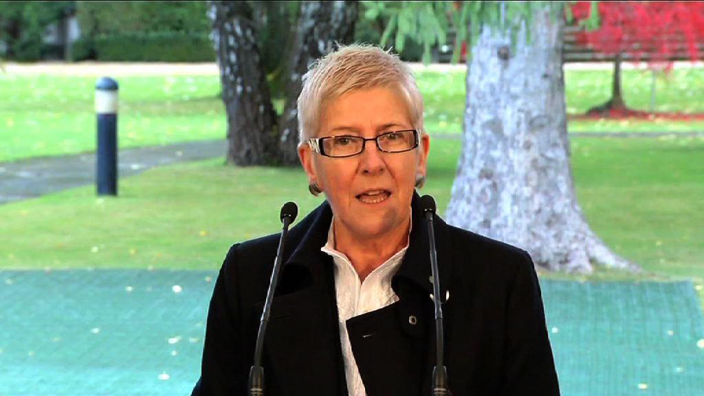 Día de la Memoria: declaración institucional leída por Maixabel Lasa (Directora Oficina Atención Víctimas Terrorismo) [3:42]