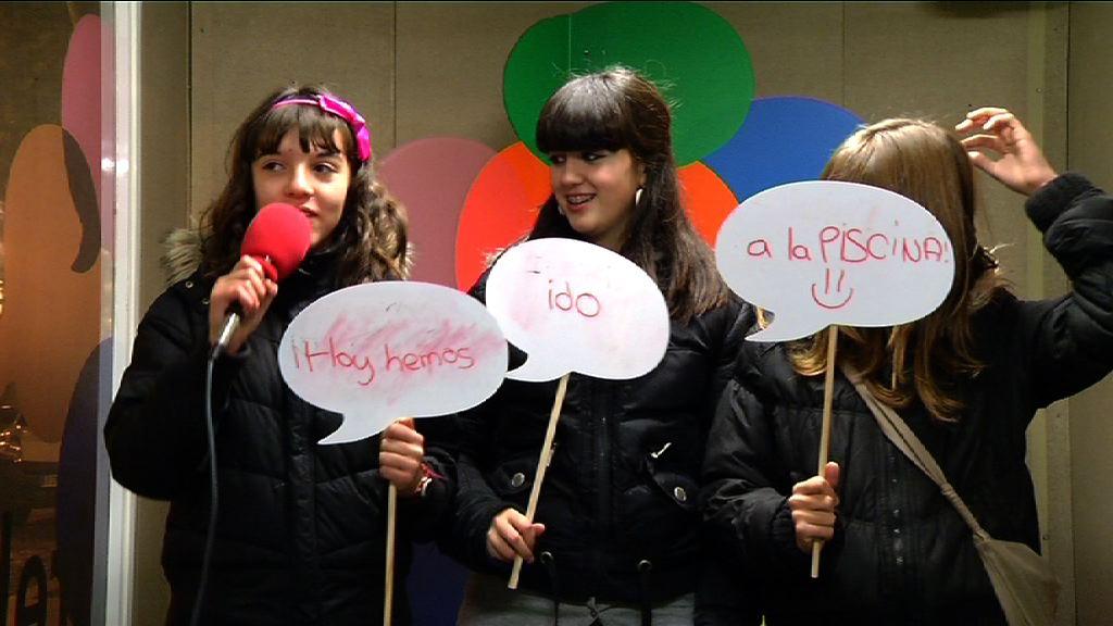 Acción solidaria escolar con Niger (Irekia Speaker´s Corner Vitoria-Gasteiz) [0:51]