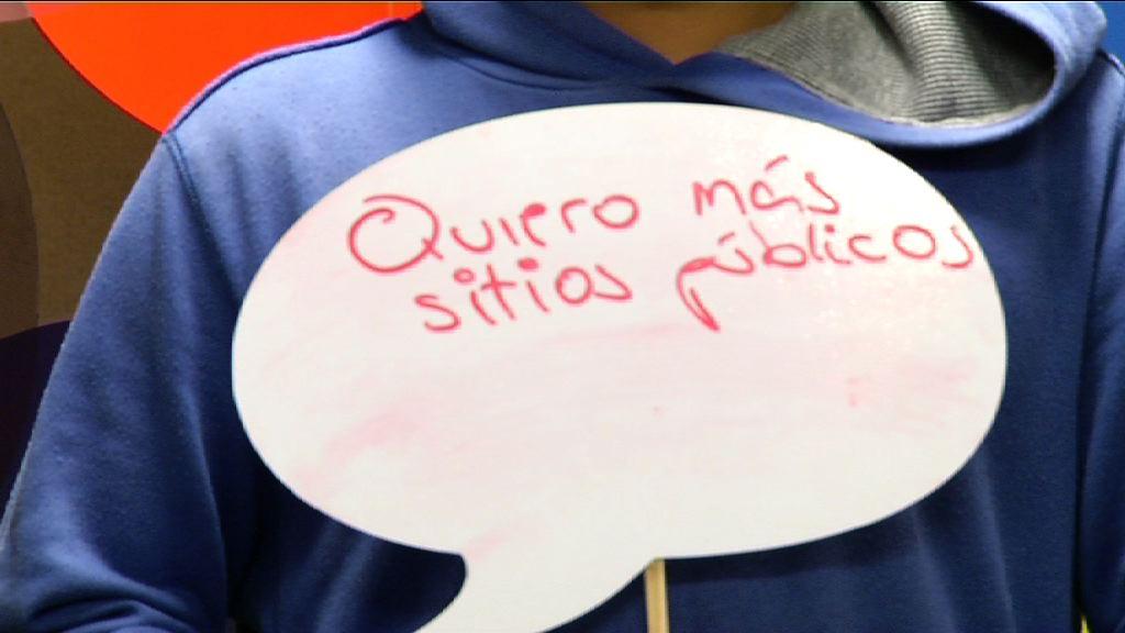 Espazio publiko gehiago (Irekia Speaker´s Corner Bilbao) [0:05]
