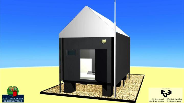 El Consejero de Vivienda y el Vicerrector de Investigación de la UPV han presentado las células de ensayo Paslink para mejorar la eficiencia energética de los edificios [1:30]