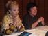 Begoña Aldekogaray y Elvira Cortajarena participaron en la reunión de empresas vascas en Argentina