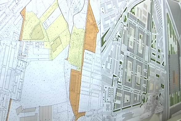 Visita al barrio San Miguel de Anaka donde el Gobierno Vasco construirá  420 VPO [1:30]
