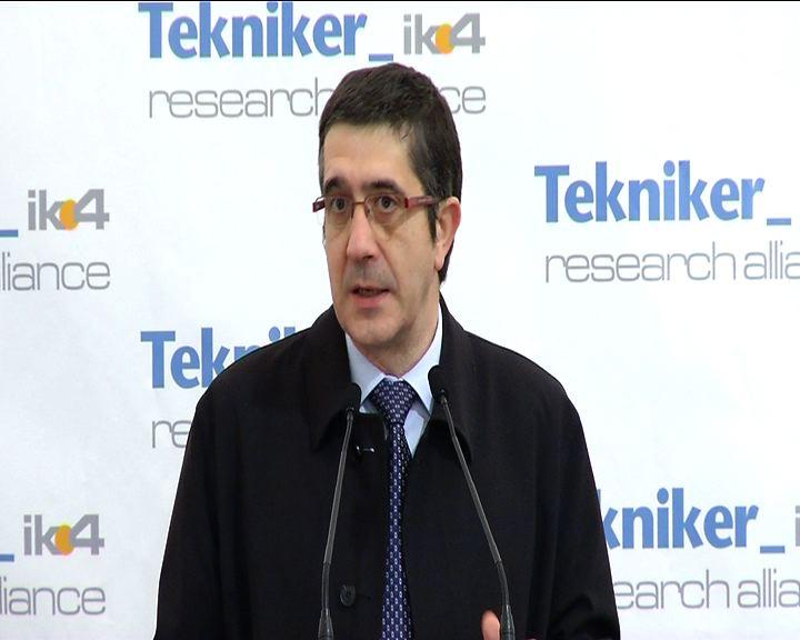 """Tekniker contribuirá a que Euskadi """"ocupe un lugar capital"""" en la innovación energética y sanitaria [8:21]"""