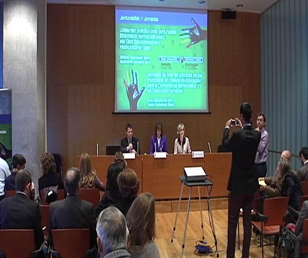 Jornadas de buenas prácticas de los municipios en materia de Educación para la Convivencia democrática y los Derechos Humanos [21:51]