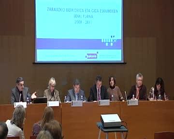 Jornadas de buenas prácticas de los municipios en materia de Educación para la Convivencia democrática y los Derechos Humanos [38:40]