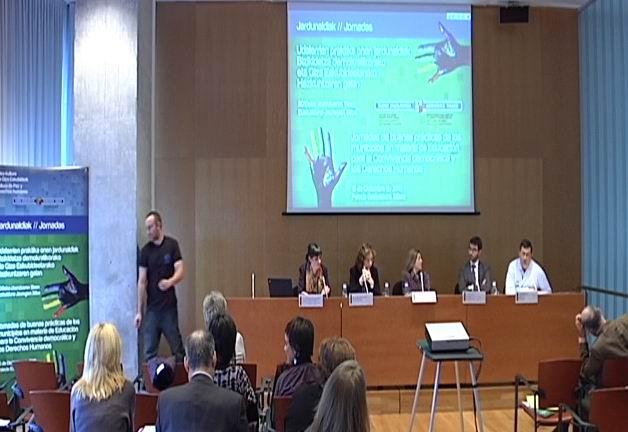 Jornadas de buenas prácticas de los municipios en materia de Educación para la Convivencia democrática y los Derechos Humanos [86:43]