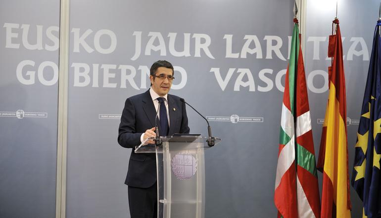 Imagen de archivo del Lehendakari, Patxi López