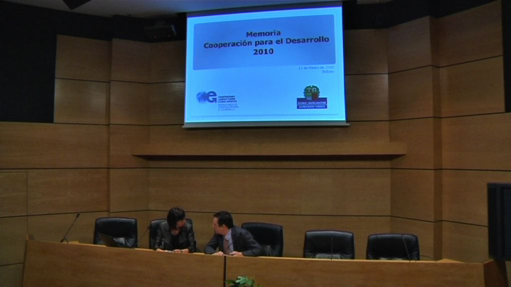 El Gobierno Vasco dedicó 51 millones de euros a proyectos de cooperación en países empobrecidos en 2010 [1:27]
