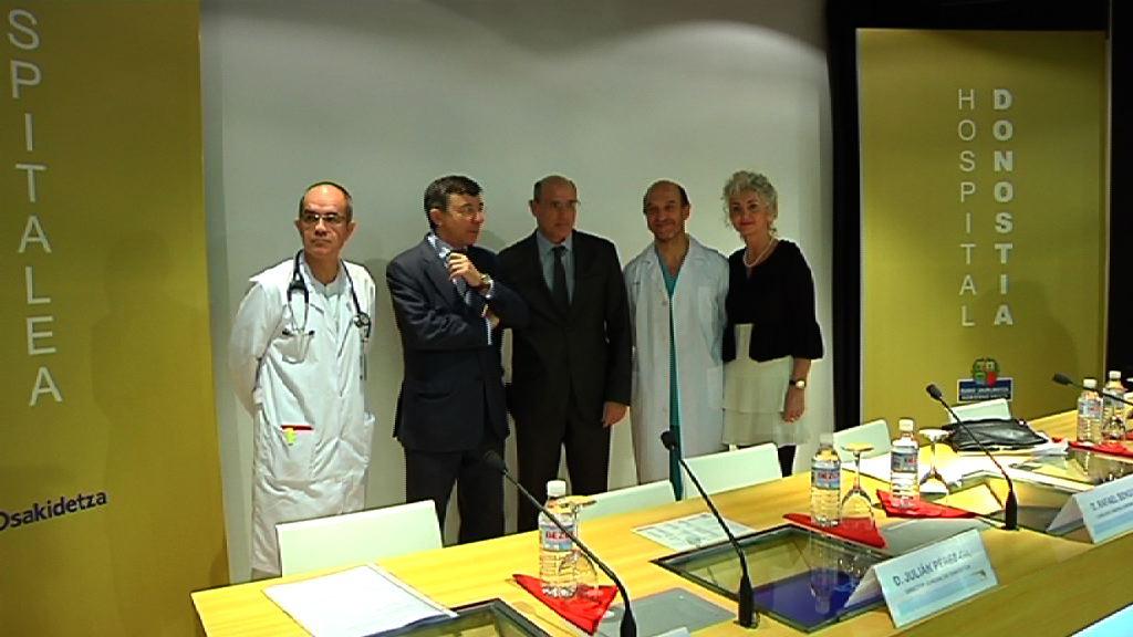 Balance satisfactorio de los dos primeros meses de la unidad de hemodinámica del hospital Donostia [1:14]