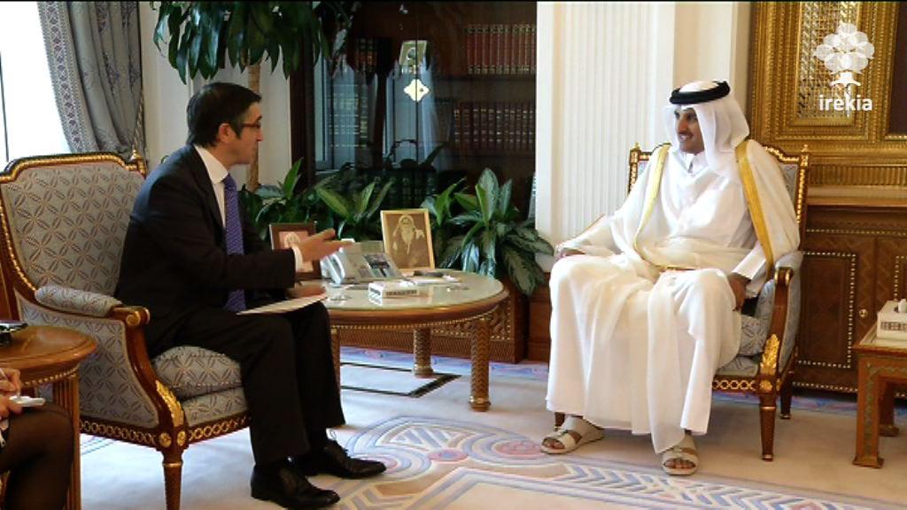Audiencia con el Príncipe Heredero, Sheik Tamim Bin Hamad Al Thani [1:52]