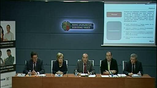 Presentación rueda de prensa del Anteproyecto de Ley de Vivienda [45:56]