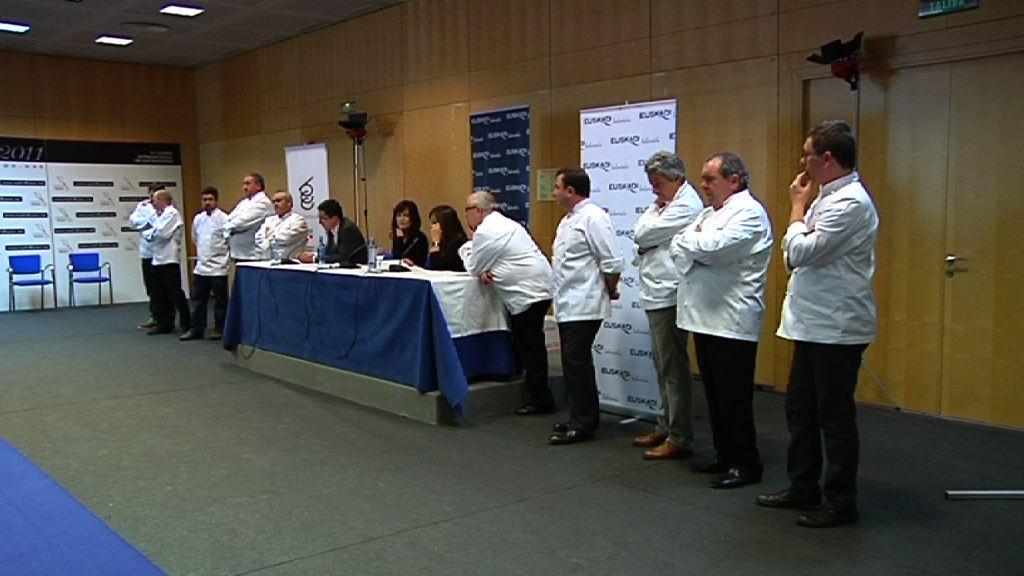 Bere 25 Michelin izarretatik 21 zabaldu ditu Euskadik Madrid Fusión biltzarrean  [1:32]
