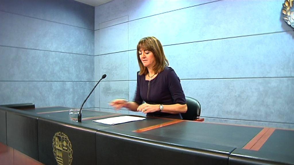 La racionalización de los recursos permite a la SPRI un ahorro de un 20% para el 2012 [1:00]
